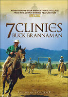 7 Clinics with Buck Brannaman: Discs 3-4 Lessons on Horseback DVD NEW