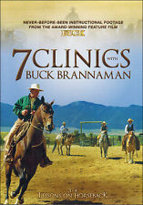 7 Clinics with Buck Brannaman: Discs 3-4 Lessons on Horseback DVD