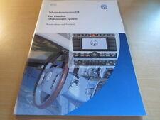 VW SSP Selbststudienprogramm 274 / Der Phaeton 2002 Infotainment System