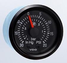 VDO Cockpit Turbo Boost Gauge 150-921 20 PSI W/ Line Kit SUPER LOW PRICE!!!