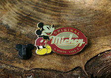 Walt Disney Original Mickey Since 1928 Mouse Pin Pinback Disneyland Resort