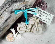 TOY  MOTORCYCLE  Made with Sand Tropical Beach Ornament
