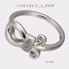 Authentic Kameleon Ice Sterling Silver Fleur De Lis Ring Size 8  IR001
