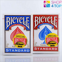 BICYCLE RIDER BACK STRIPPER DECK MAGIC TRICKS PLAYING POKER CARDS RED BLUE DECK