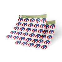 """Ohio Flag Sticker Decal 1/"""" Rectangle Two Sheets 50 Total Stickers"""