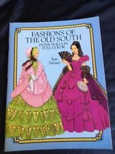 UNCUT Fashions of the Old South Paper Dolls by Tom Tierney, 1989
