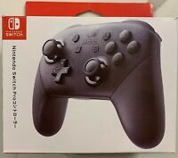 Official Nintendo Switch Pro Wireless Controller Japan Edition Classic Black