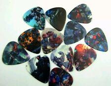 Transformers Toy Cartoon Art Movie Guitar Picks Collectible Memorabilia Gift