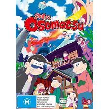 Mr Osomatsu Complete Series New OZ DVD Boxset 4 Discs Region 4