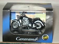 Cararama Motorcycle 1999 Yamaha XV1600A Wild Star Diecast 1/43 Hongwell Blk Bike