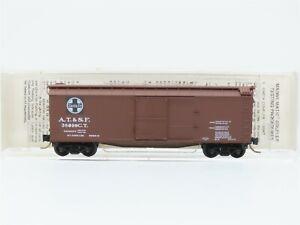 N Scale Kadee Micro-Trains MTL 39060 ATSF Santa Fe 40' Box Car #38090 Custom