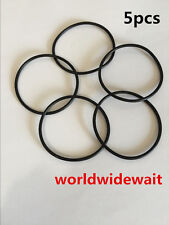 5 X Black Rubber Oil Seal O Ring Sealing Gasket Washers 140mm x 2.4mm