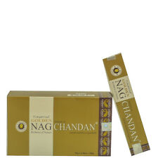 INCIENSO GOLDEN NAG CHANDAN 12 CAJETILLAS 15 GRAMOS CADA UNA