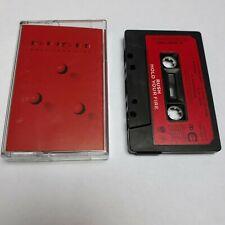 RUSH HOLD YOUR FIRE CASSETTE TAPE 1987 RED PAPER LABEL VERTIGO UK