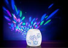 Aromamatic Rainbow Multi-Light Electric Oil / Melts Burner Wax Warmer FREE POST