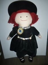 Eden Madeline Special Edition Dark Green Dress Collectible Plush Doll 2001