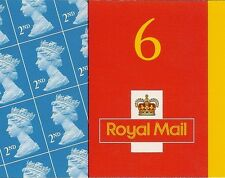 GB 2001 2nd Barcode Booklet MA1