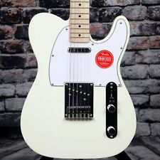 Squier Affinity Series Telecaster Arctic White Electric Guitar Fender