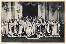CPA ANGLETERRE ENGLAND couronnement de la reine Elizabeth II portrait officiel