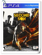 PS4 INFAMOUS: SECOND SON ENG / 恶名昭彰 次子 中文版 SONY PlayStation Games Action SCE