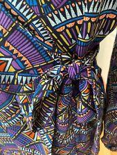 Tu Wrap Bright Dress Size 10 Nwt Bright Fab