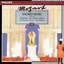 Peter Schreier - Mozart Sacred Music incl. Requiem Ave Verum CD Philips Germany