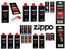 More details for original zippo lighter zippo hand warmer refill fuel petrol fluid & flints wick