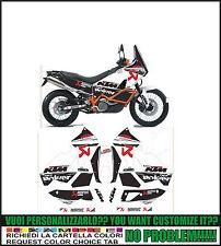 kit adesivi stickers compatibili LC8 950 990 ADVENTURE AKRAPOVI
