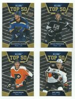 2019-20 UD HOCKEY ALLURE TOP 50 (#T501-T50-50) U-PICK FROM LIST
