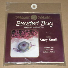 "Mill Hill ""Suzy Snail"" Beaded Bug Kit NIP"