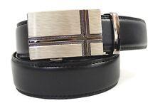 XXL Automatik Gürtel schwarz extra langer Gürtel Gesamt 140 , 150, 160 cm  Kreu