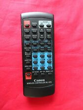 Canon WIRELESS CAMCORDER REMOTE CONTROL MODEL:WL-D79 EX/CON