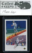 1991 Upper Deck Aerial Threats #34 Dan Marino/Mark Clayton (HoF Miami Dolphins)