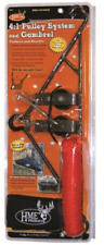 "Game Hanger Skinning Cleaning Deer Gambrel Hoist Lift System 3/8"" 500 lbs"