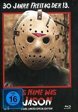 Mediabook Freitag der 13. - HIS NAME WAS JASON COVER B Limited BLU-RAY + DVD Neu