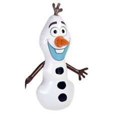 DISNEY FROZEN OLAF INFLATABLE PUNCH BOP BAG INDOOR OUTDOOR GAME TOY WOBBLE NEW