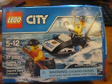 LEGO City 60126 New Tire Escape 47 pcs Mini Figures Sealed Alcatraz Convict