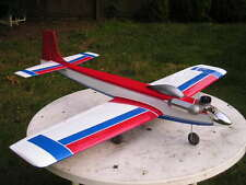 "KAOS 60 scratch build r/c Sport Pattern Plane Plans & Instruction 59"" wing span"