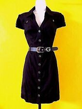 GUESS   BLACK   DRESS with BELT  size  L