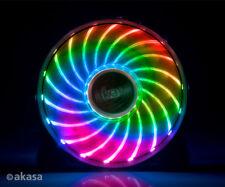 Akasa AK-FN093 Vegas X7 RGB Multicolour LED Case Fan 120mm
