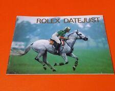 ROLEX DATEJUST BOOKLET - VINTAGE 1997 - 593.54 SPANISH