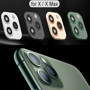 Fake Camera Sticker Lens Cover Change to iPhone 11 Pro Max for iPhone X /XS /MAX