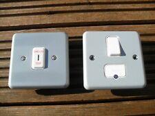 Joblot MK metalclad emergency light key test switch & switch fuse spur.