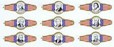 Presidential Washington 32 cigar bands vitolas Bauchbinden G 19