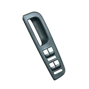 Window Switch Cover Trim Bezel For Gray VW Golf Jetta Passat Front Left Driver