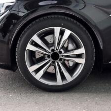 "4Pcs 28.7"" Car Carbon Fiber Wheel Eyebrow Arch Trim Lips Fender Flares Protector"