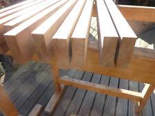 10 x massivholz streifen Nussbaum  astfrei 570x50 x 17,5 mm z b für messerblock