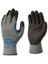 Showa Glove Heavy Duty Work Regrip 330 Grey XL