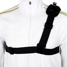Shoulder Chest Strap Mount Harness Belt For GoPro Hero 3 3+ 4 Session OP