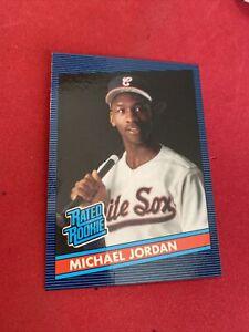 1986 Donruss Michael Jordan Baseball Rated Rookie Rare Fun City Cards Promo Card